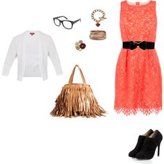 At work, created by karina-villagra on Polyvore