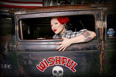 rat rod/rockabilly girl