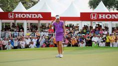 2014 Honda LPGA Thailand | Professional Golfers | Tour Schedule, Leaderboard & News | LPGA Girls Golf, Lpga, Golfers, Schedule, Honda, Thailand, Tours, News, Timeline
