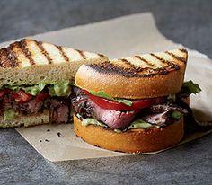 MyPanera Recipe: A Coffee Steak Sandwich on Texas Toast
