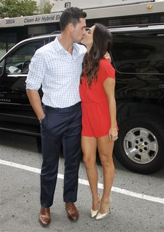 When Are Andi Dorfman and Josh Murray Having a Baby? I can't wait for them to start having babies! They are gonna make gorgeous babies! Andi And Josh, Josh Murray, Andi Dorfman, Beautiful People, Beautiful Women, Celebs, Celebrities, Celebrity Couples, Hollywood Stars