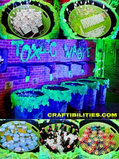 New Ideas For House Party Decorations Adult Zombie Halloween Party, Halloween Party Drinks, Halloween Birthday, Halloween Drinking Games, Halloween Playlist, Halloween Recipe, Halloween Cupcakes, House Party Decorations, Diy Halloween Decorations