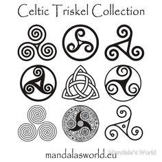 Celtic symbols of sisterhood, the triskele Simbolos Tattoo, Grey Tattoo, Inca Tattoo, Samoan Tattoo, Polynesian Tattoos, Celtic Patterns, Celtic Designs, Norse Tattoo, Form Design