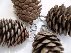 How to Make a Pine Cone Garland - The Magic Onions