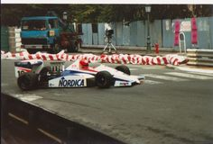 Pierre-Henri Raphanel - March 87B Cosworth DFV/Langford & Peck - Onyx race Engineering - XLVII Grand Prix de Pau 1987