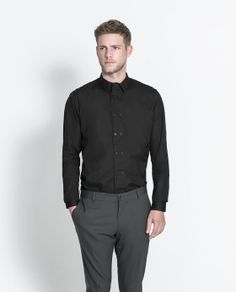 ZARA - MAN - DOUBLE BREASTED SHIRT