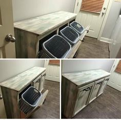 1000 Ideas About Laundry Basket Holder On Pinterest
