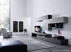 Soggiorno Lampo 2012 componibile modulare trasversale - DIOTTI A Arredamenti