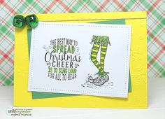 Christmas card have never been this easy! One kit- endless possibilities!