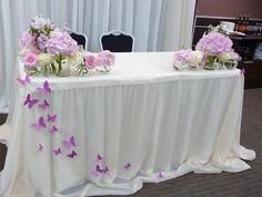 свадебный стол бабочки - Поиск в Google