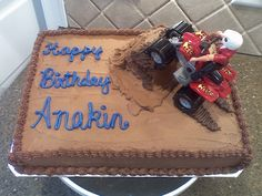 4 Wheeler Cake | Four Wheeler cake — Children's Birthday Cakes