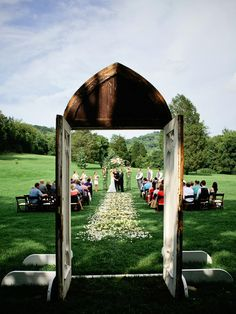 """Say """"I do"""" against a one-of-a-kind backdrop."""