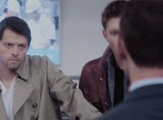 Cas pushes Dean