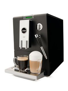 Black ENA 3 Automatic Machine by Jura on Gilt Home