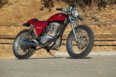 Ryca's CS-1 kit transforms the Suzuki S40 into a lightweight cafe racer. Yours for just $2795.