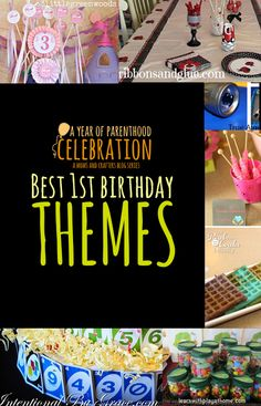 the best First Birthday Party Themes - from extravagant to DIY to simple to all around awesome