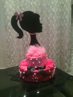 Torta barbie party