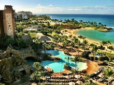 Aulani Disney Resort in Oahu, Hawaii.