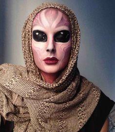 original maquillaje de extraterrestre