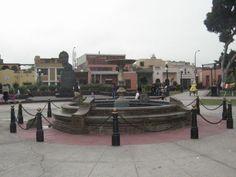 Este parque de Pueblo Libre es el más visitado por los turistas debido a que la tradición de lo antiguo se mantiene.