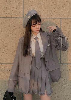 Люблю это аниме , так что решила сделать эту историю. Сразу говорю , … #разное # Разное # amreading # books # wattpad Korean Girl Fashion, Ulzzang Fashion, Korean Street Fashion, Kpop Fashion Outfits, Edgy Outfits, Korean Outfits, Mode Outfits, Japanese Fashion, Cute Casual Outfits