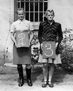 Germany, War criminals Hilda Lohbauer(2) and Irma Grele(3)