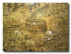 Cesena - antica mappa di Roma - ancient map of Rome by gippi52, via Flickr