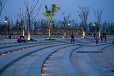 Bengbu-Longzi-Lake-Bridge-Park-by-AECOM-02 « Landscape Architecture Works | Landezine #LandscapingLighting