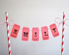 Items similar to Personalized Cake Bunting Banner / Cake Topper / Carnival Cake Banner / Circus Themed Cake Banner on Etsy Carnival Birthday Cakes, Circus Theme Cakes, Carnival Cakes, Circus Carnival Party, Circus Theme Party, Themed Birthday Cakes, Circus Birthday, Birthday Party Themes, Circus Wedding