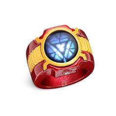 Marvel Iron Man 3 LED Arc Reactor Ring: Amazon.co.uk: Sports &... ($23) ❤ liked on Polyvore featuring bracelets, rings, iron man, jewelry and marvel