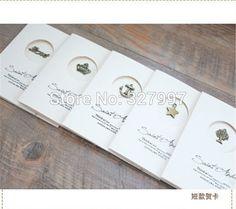 100 pcs/lot винтажный свадебная открытка приглашение металл аксессуары своими руками карта для день рождения купить на AliExpress