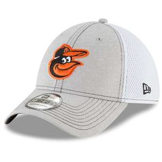 new style 62993 633b6 Men s Baltimore Orioles New Era Gray Classic Shade Neo 39THIRTY Flex Hat,  Your Price