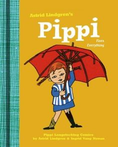 Pippi Fixes Everything by Astrid Lindgren & Ingrid Vang Nyman is a new translation of an old classic!  This reboot is a great way to introduce a long-beloved character to your children. #books