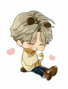 Exo Stickers, Cute Stickers, Exo Kokobop, Chanyeol, Exo Kai, Kyungsoo, Exo Anime, Cute Themes, Exo Fan Art