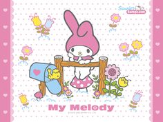 Imprimibles de My Melody 7. | Ideas y material gratis para fiestas y celebraciones Oh My Fiesta!