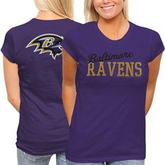 TWO DAYS ONLY: All Ladies & Kids apparel is marked down 15-40% at Fanatics! Get this Ravens T-shirt for only $18.66: http://pin.fanatics.com/NFL_Baltimore_Ravens/on_sale/yes/Baltimore_Ravens_Ladies_Game_Day_T-shirt_-_Purple/source/pin-ravens-ladies-sale-sclmp
