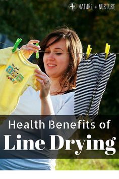 Did you know there are more benefits to line drying your clothes than meets the eye?