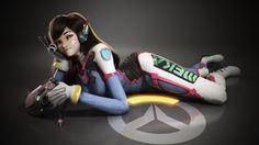 D.Va Overwatch Game Girl Wallpaper