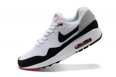 best website 04e6a 98f97 Bueno Nike Air Max 1 Blanco Negro Hombre Zapatillas, black and white air max.  fashion and classic shoes for men