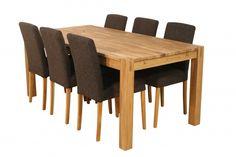 Verona bord med 6 Lanea stoler - Bo-billig.no! Litt Billigere, Alltid