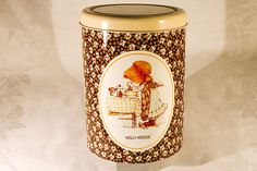 Holly Hobbie Storage Tin with Lid by VinChic on Etsy