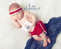 Crochet PATTERN - Baby Running Marathon Shorts & Sweatband - Instant Download PDF 319 - Newborn to 12 Months - Photography Prop Pattern on Etsy, $4.50