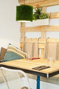 Mr Frank.Lugar natural y urban con decoracion low cost