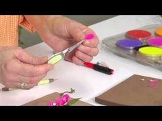 Designing in Susan's Garden with Sizzix Thinlits Bougainvillea Flower Set - YouTube