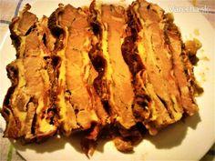 Pečená krkovička Fudo - Recept Bacon, Breakfast, Food, Morning Coffee, Essen, Meals, Yemek, Pork Belly, Eten