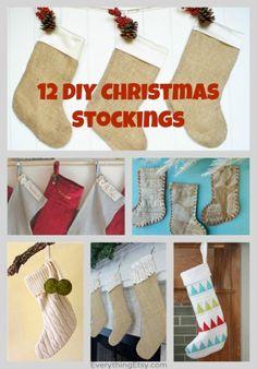12 DIY Christmas Stockings – Handmade Holiday Inspiration