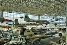 Boeing's massive museum outside Seattle, Washington