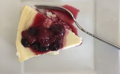 21 Day Fix Cheesecake that my husband and I ate for breakfast ;)