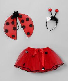Red Ladybug Dress-Up Set - Toddler & Girls $17.99