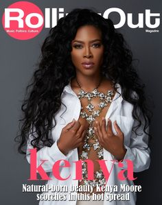 Kenya Moore- i totally would feel comy re-creating this photo shoot with RED pumps